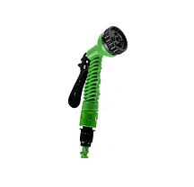 Шланг для поливу X HOSE 7.5 м з розпилювачем Зелений, фото 2