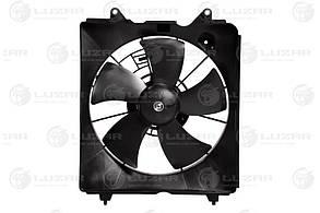 Электровентилятор охлаждения с кожухом Honda CR-V III (06-) 2.0i/2.4i (LFK 23ZP) LUZAR19015RZAA01 19030RZAA01