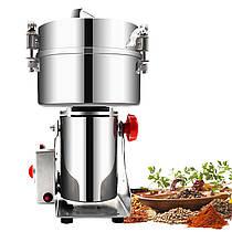 Мини мельница Vilitek VLM-40 2000 г 4200 мл домашняя мукомолка для зерна измельчитель сахара трав кофе