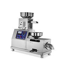 Шнековый маслопресс  Oil Extractor OP-50 с автоматическим дозатором пресс для холодного отжима масла