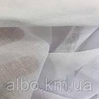 Тюль на кухню лляної турецький ALBO 500x270 cm Білий (T-L-5), фото 3