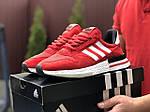 Мужские кроссовки Adidas Zx 500 Rm (красно-белые) 9368, фото 2