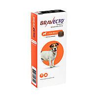 Бравекто Жувальна таблетка для захисту собак від кліщів і бліх 4,5 -10 кг