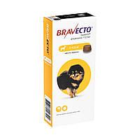 Бравекто Жувальна таблетка для захисту собак від кліщів і бліх 2-4.5 кг