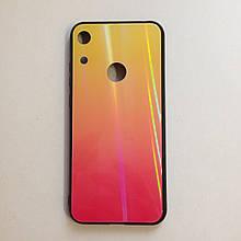Чехол Huawei Honor 8A Holografic Pink