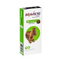 Бравекто Жувальна таблетка для захисту собак від кліщів і бліх 10-20 кг