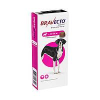 Бравекто Жувальна таблетка для захисту собак від кліщів і бліх 40 -56 кг