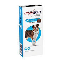 Бравекто Жувальна таблетка для захисту собак від кліщів і бліх 20-40 кг