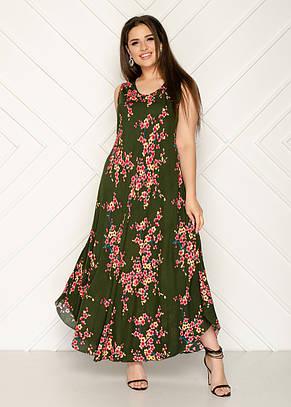 Женское летнее платье 1232-70, фото 2