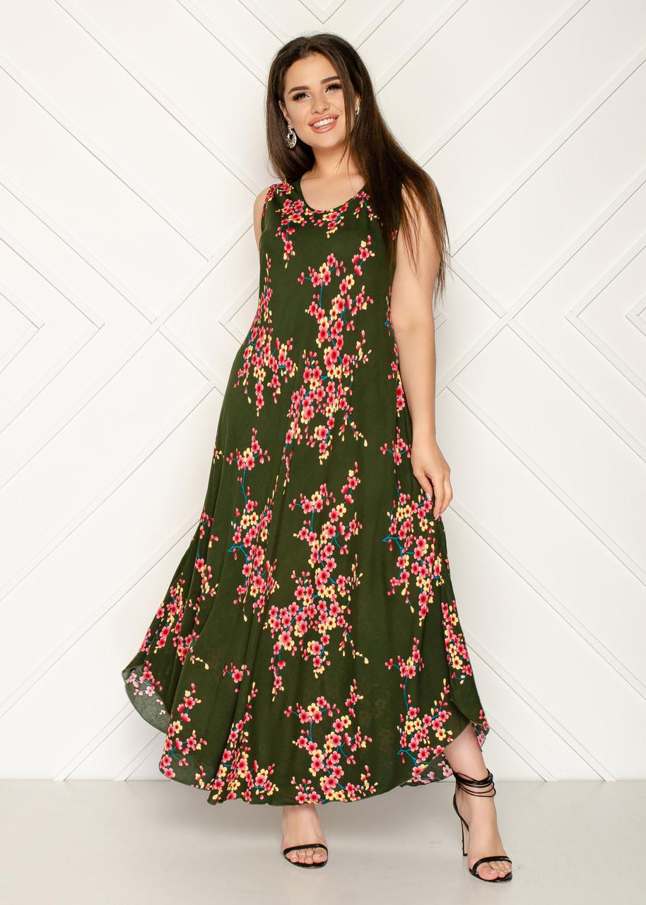 Женское летнее платье 1232-70