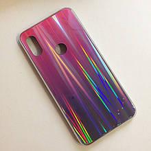 Чехол для Xiaomi Redmi Note 6 Aurora Pink