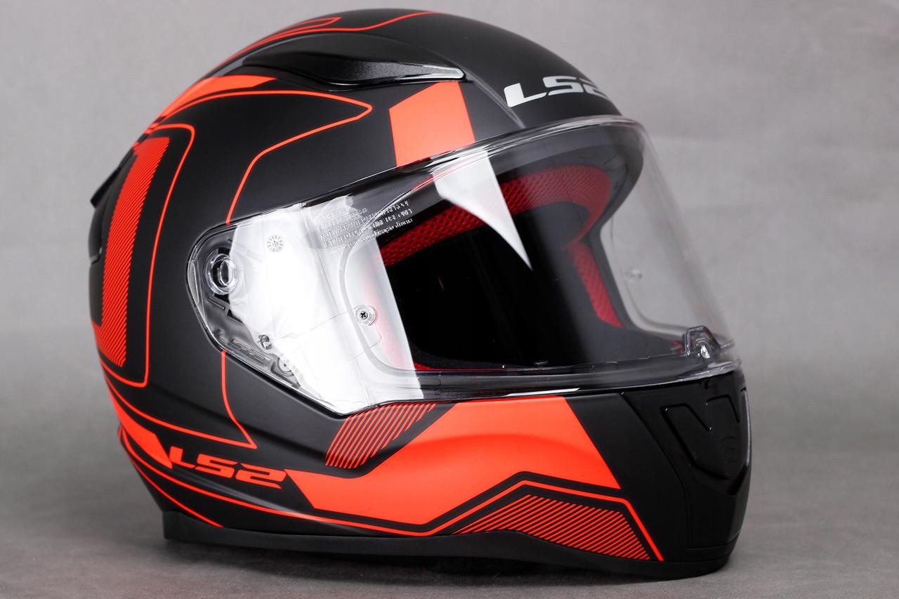Мото шолом LS2 FF353 RAPID CARRERA Orange