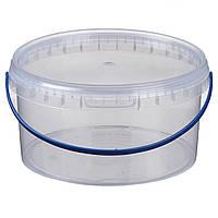 Ведро 3 л. пластиковое для пищевых продуктов 020000040