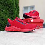 Чоловічі кросівки Puma Hybrid (червоні) 10161, фото 2