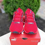 Мужские кроссовки Puma Hybrid (красные) 10161, фото 4