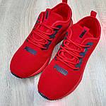 Чоловічі кросівки Puma Hybrid (червоні) 10161, фото 6