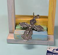 Кулон-крест серебряный 925 пробы Украинского производителя.
