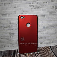Чехол накладка для Xiaomi Redmi Note 5a красный  T-Phox