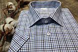 Мужская рубашка в клетку на лето под джинсы, фото 2