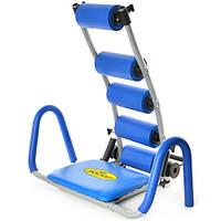 Спортивный тренажер AB Rocket MS 0087 для пресса и мышц спины (спортивний тренажер для пресу та спини)