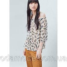 Блуза жіноча літнє з принтом Mango