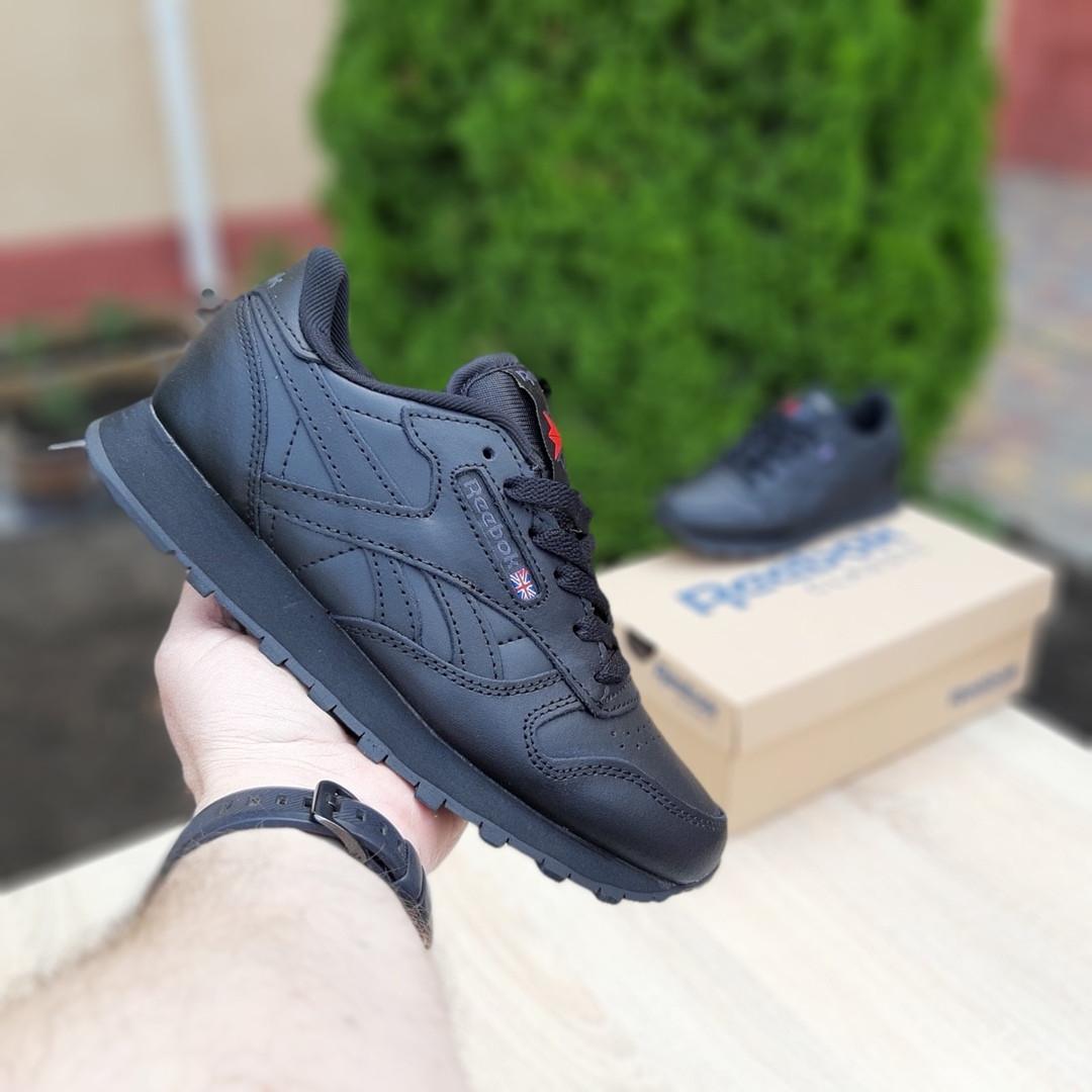 Жіночі кросівки Reebok Classic (чорні) 20116