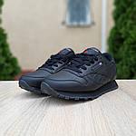 Женские кроссовки Reebok Classic (черные) 20116, фото 3