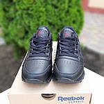 Женские кроссовки Reebok Classic (черные) 20116, фото 9