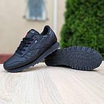 Женские кроссовки Reebok Classic (черные) 20116, фото 7