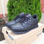 Жіночі кросівки Reebok Classic (чорні) 20116, фото 8