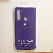 Чехол для Xiaomi Redmi Note 8 Silicone Violet