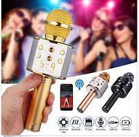 Беспроводной караоке, микрофон KTV WS 858 Bluetooth