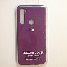 Чехол для Xiaomi Redmi Note 8 Silicone Purple
