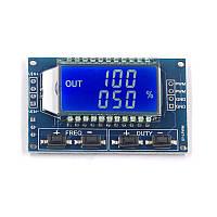 Генератор прямокутних імпульсів ШІМ 1 Гц - 150 КГц, 3.3 30...