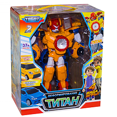 Трансформер Тобот Титан 504 Робот трансформер Титан 2 в 1 TOBOT