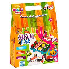 Набор для лепки Мистер тесто Суши бар Sushi bar Strateg , 26 элем. (71207)