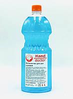 Антисептик спиртовой для рук 75% спирта Hand Doctor (гель) 1 л., фото 1
