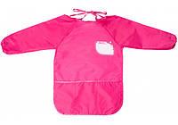 Фартух для дитячої творчості для дошкільнят 49*37см рожевий MX61650-09