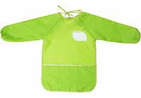 Фартух для дитячої творчості для дошкільнят 49*37см салатовий MX61650-13