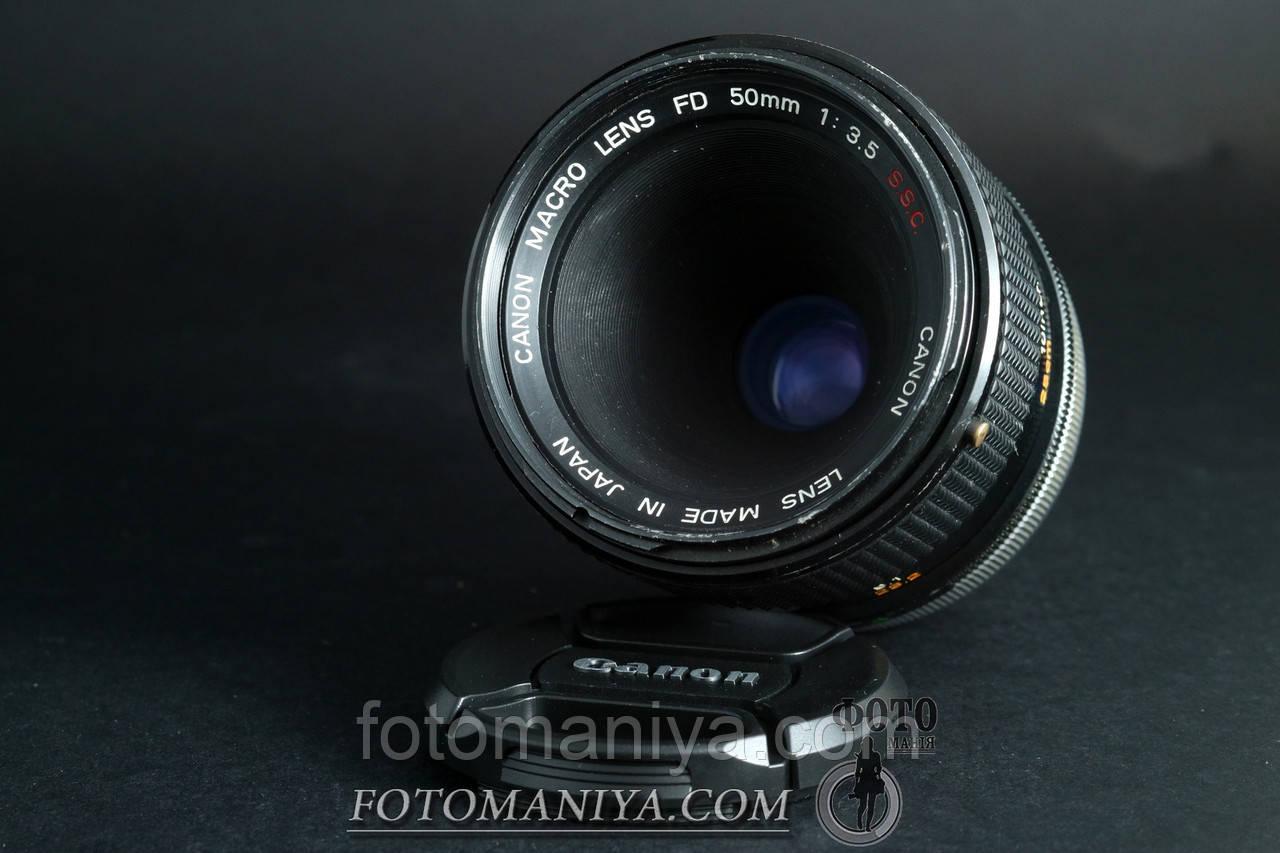 Canon Macro lens FD 50mm f3.5  S.S.C