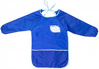 Фартух для дитячої творчості для дошкільнят 49*37см синій MX61650-02