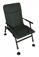 Кресло карповое Vario Camping Мягкое Кресло для рыбалки, рыболовное кресло до 120кг (2411)