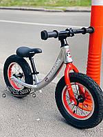 Беговел детский Черный - Детский велобег Traffic