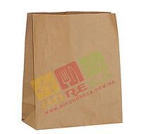 Паперовий пакет Крафт на винос 335*260*140 1/350