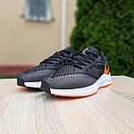 Мужские кроссовки Nike Zoom WINFLC 6 (черно-оранжевые) 10162, фото 3