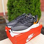 Мужские кроссовки Nike Zoom WINFLC 6 (черно-оранжевые) 10162, фото 6