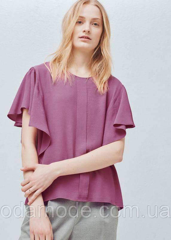 Блуза жіноча літня з коротким рукавом Mango