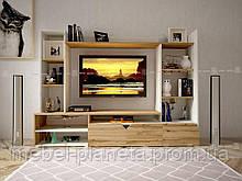 """Стенка для телевизора в стиле минимализм """"Салерно"""" Lion"""