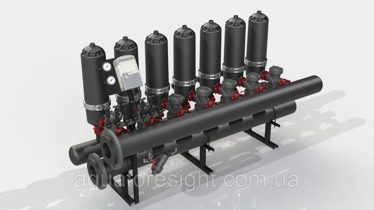 Автоматический дисковый фильтр ADF 716A-S (5-50 micron) до 102 м3/ч