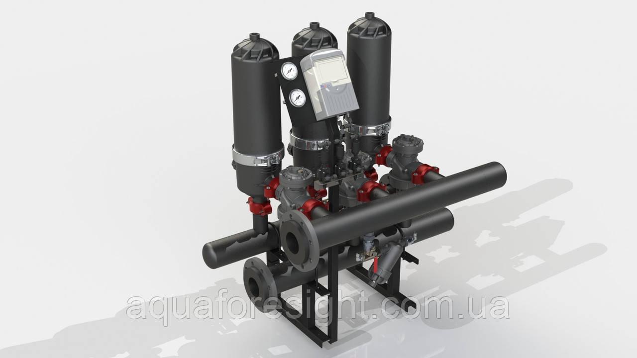 Автоматический дисковый фильтр ADF 316A-S (100-400 micron) до 75 м3/ч